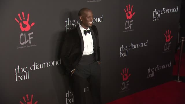 tyrese gibson at rihanna's first annual diamond ball benefitting the clara lionel foundation at the vineyard on december 11 2014 in beverly hills... - tyrese stock videos and b-roll footage