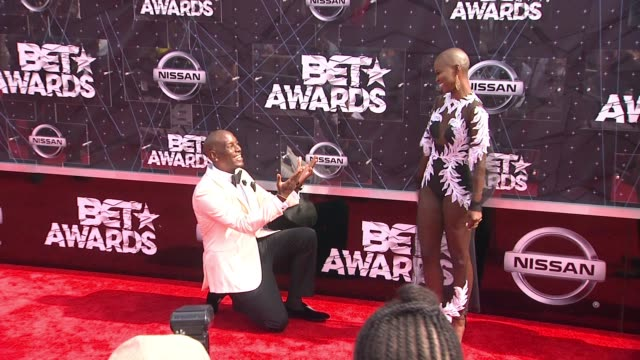 tyrese gibson at the 2015 bet awards on june 28 2015 in los angeles california - tyrese stock videos and b-roll footage