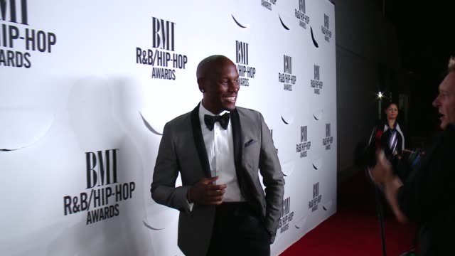 tyrese gibson at the 2015 bmi rb/hiphop awards at saban theatre on august 28 2015 in beverly hills california - tyrese stock videos and b-roll footage