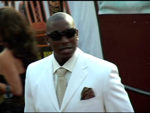 tyrese gibson at the 20th annual soul train music awards at pasadena civic auditorium in pasadena california on march 4 2006 - tyrese stock videos & royalty-free footage