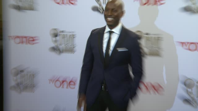 tyrese gibson at the 45th naacp image awards press room at pasadena civic auditorium on february 22 2014 in pasadena california - tyrese stock videos and b-roll footage