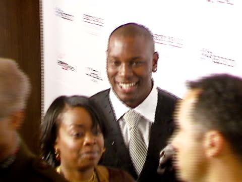 tyrese gibson at the legendary clive davis pregrammy party at beverly hills california - tyrese stock videos & royalty-free footage