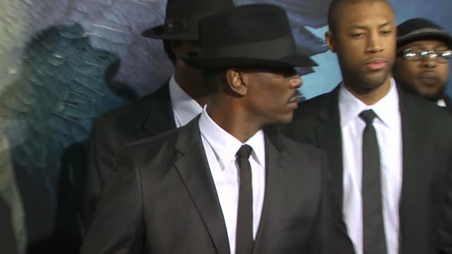 tyrese gibson at the 'legion' premiere at hollywood ca - tyrese stock videos and b-roll footage