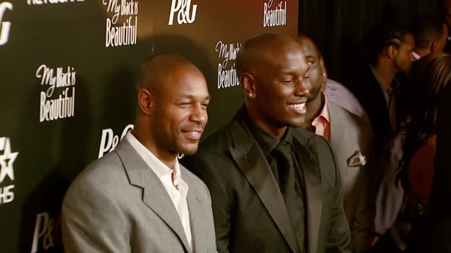 tyrese gibson at the prebet awards dinner and party at boulevard 3 in los angeles california on june 25 2007 - tyrese stock videos & royalty-free footage