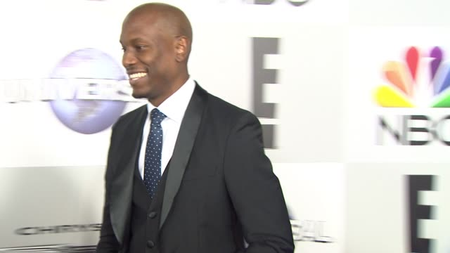 tyrese gibson at the universal nbc focus features e entertainment golden globes after party sponsored by chrysler at the beverly hilton hotel on... - tyrese stock videos and b-roll footage