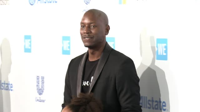 tyrese gibson at we day california at the forum on april 07 2016 in inglewood california - tyrese stock videos and b-roll footage