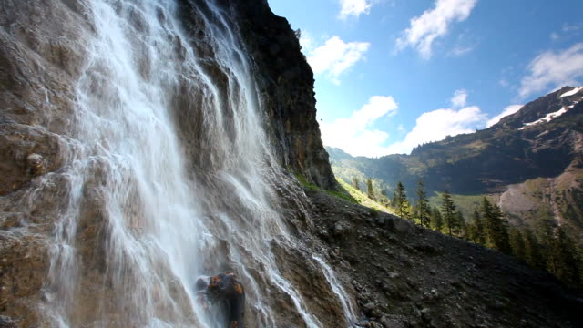 tyrolean cascade, alps, austria, tirol