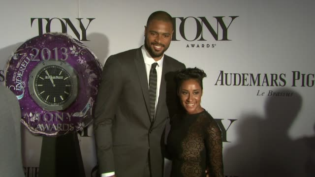 Tyson Chandler Kimberly Chandler at The 67th Annual Tony Awards Arrivals at Radio City Music Hall on June 09 2013 in New York New York