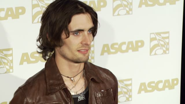 tyson ritter of all-american rejects at the ascap pop music awards at the kodak theatre in hollywood, california on april 18, 2007. - the all american rejects stock videos & royalty-free footage