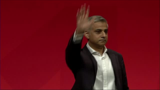 Online petition opposing tops half a million signatures LIB / 2792016 Liverpool INT Sadiq Khan at the 2016 Labour Party Conference