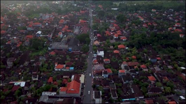 ubud, bali aerial - ubud stock videos & royalty-free footage