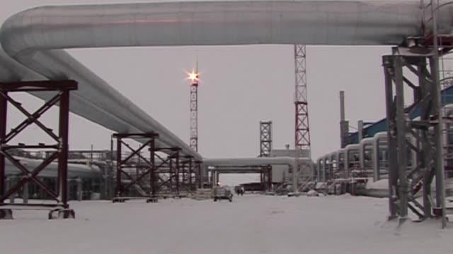 vídeos y material grabado en eventos de stock de ucrania amenazo este sabado con llevar a rusia ante un tribunal de arbitraje en suecia por el aumento en el precio de gas mientras europa advierte a... - llevar