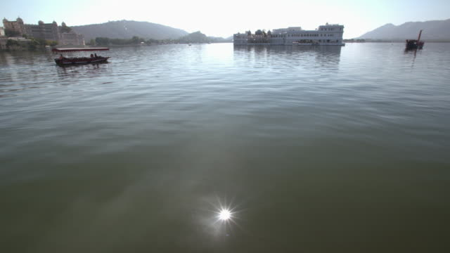 Udaipur Lake Picholawith Water Reflections and Palace on the Lake in the Bakckground