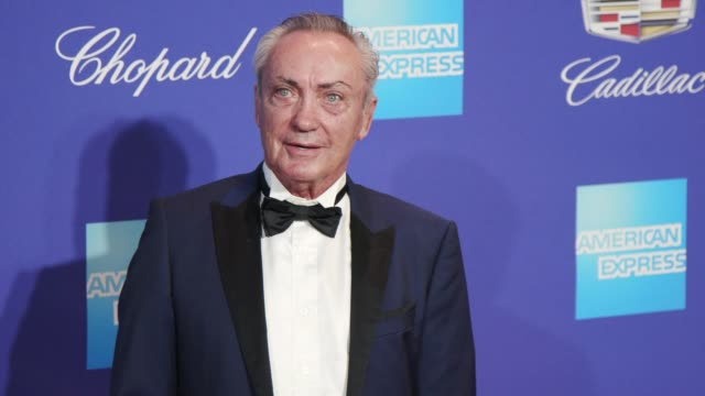 Udo Kier at the 29th Annual Palm Springs International Film Festival Awards Gala at Palm Springs Convention Center on January 02 2018 in Palm Springs...
