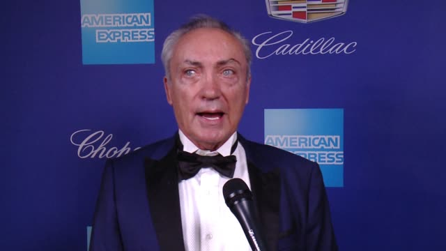 INTERVIEW Udo Kier on diversity and emphasis on the work at the Palm Springs Film Festival at the 29th Annual Palm Springs International Film...