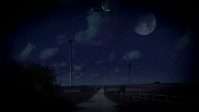 ufo arrived