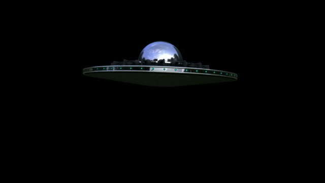 ufo with alpha channel - alpha channel stock videos and b-roll footage