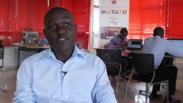 ugandan based tech startup kola studios built a hit with their latest app matatu a play off a popular card game that has over 60000 downloads - kampala stock videos & royalty-free footage