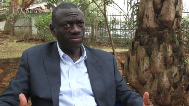 """ugandan opposition leader kizza besigye on wednesday criticised the country's tough new anti-gay laws, saying that homosexuality was not """"foreign""""... - kampala stock videos & royalty-free footage"""