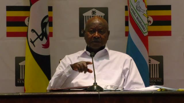 Ugandan President Yoweri Museveni accuses NGOs funded by foreign governments of funneling money to his political opponents