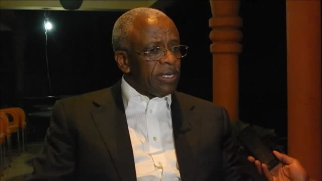 uganda's former prime minister amama mbabazi has called his arrest was shameful following his release thursday evening - thursday stock videos and b-roll footage