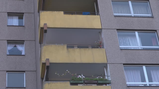 ugly balcony - ugliness stock videos and b-roll footage