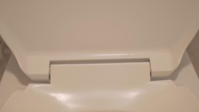 UHD/4k Apple ProRes (HQ) : Toilet bowl.