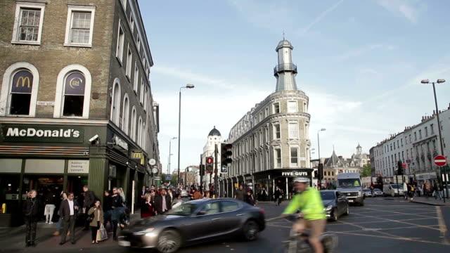uk london city - moschea video stock e b–roll