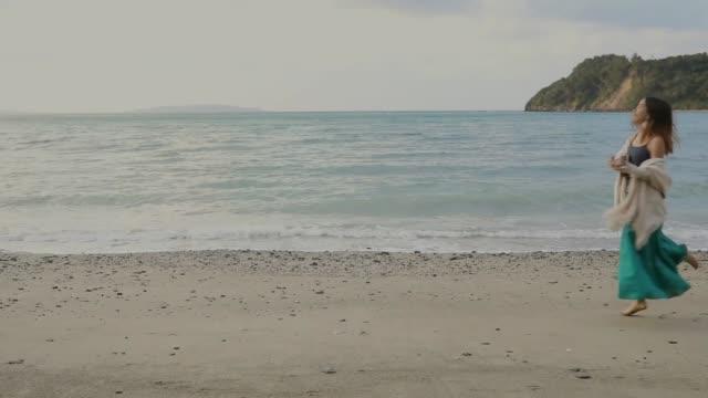 ビーチでウクレレ楽しい - 歌う点の映像素材/bロール
