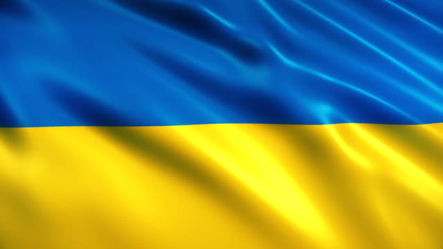 ukraine flag - ukraine stock videos & royalty-free footage
