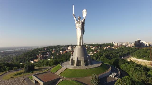 ukraine, kiev, museum of the great patriotic war 1941-1945 - war stock-videos und b-roll-filmmaterial