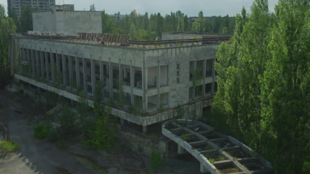ukraine, pripiat: downtown of pripiat - news event stock videos & royalty-free footage