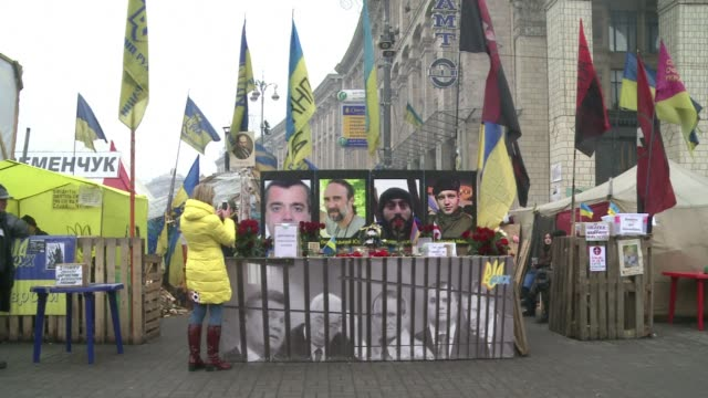 vídeos y material grabado en eventos de stock de ukraine's attorney general said friday all 234 protesters who were arrested in antigovernment unrest rocking the country had been released as... - balancearse