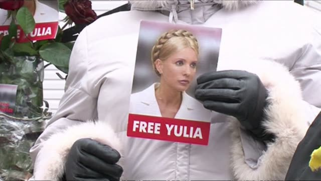 ukraine's expremier yulia tymoshenko may be serving a sevenyear jail sentence and physically frail yet she remains a formidable political force and... - kharkov stock videos & royalty-free footage