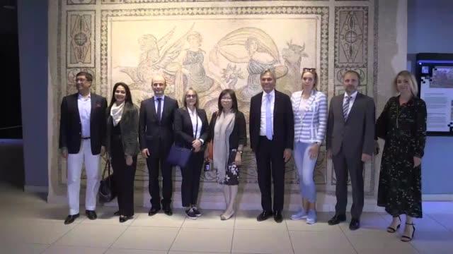 Ukrainian ambassador Andrii Sybiha Macedonian ambassador Zvonko Mucunski Bosnian ambassador Bakir Sadovic and Indian ambassador Sanjay Bhattacharyya...