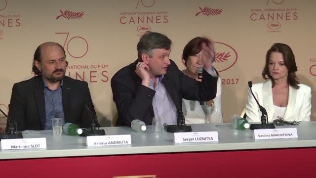 ukrainian filmmaker sergei loznitsa presented his third film in competition at the cannes film festival on thursday an adaptation of dostoevsky's... - fyodor dostoevsky stock videos & royalty-free footage