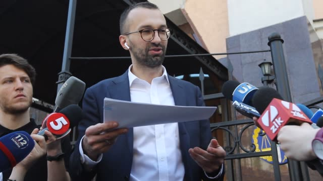 ukrainian lawmaker serhiy leshchenko shows to journalists the originals of documents, as he said, which was returned from usa by the fbi after ending... - 2010 2019 stock videos & royalty-free footage