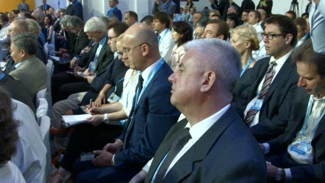 Ukrainian Prime Minister Arseniy Yatsenyuk accuses Russian President Vladimir Putin of wanting to wipe out Ukraine as an independent country despite...