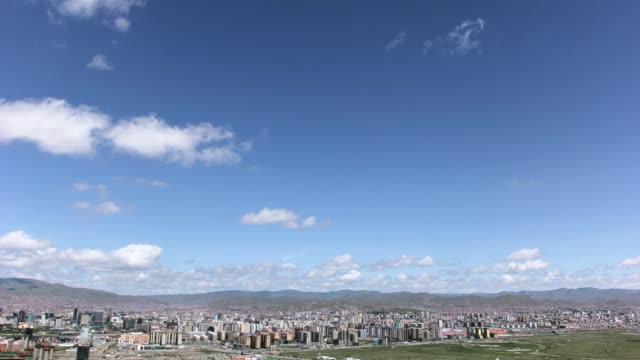 vídeos de stock e filmes b-roll de t/l ulaanbaatar city - ulan bator