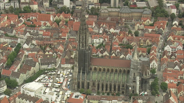 ulm cathedral - cathedral stock videos & royalty-free footage