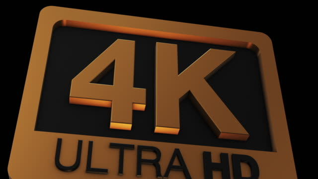 4k ultra hd logo - dvd stock videos & royalty-free footage