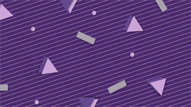 Ultra Violet 1990s Style Animated Background