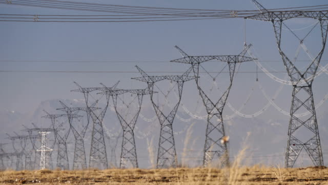 Ultra-High Voltage Transmission Tower in China