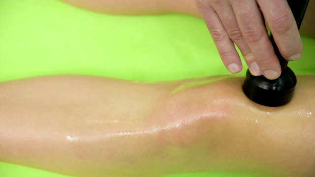 ultrasound massage - massager stock videos and b-roll footage