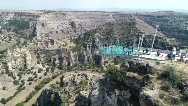 ulubey canyon the world's second longest canyon located in turkey's western usak province attracts visitors under coronavirus measures located in... - sports period stock videos & royalty-free footage