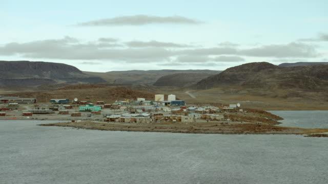 ulukhaktok on victoria island canada - inuit stock videos & royalty-free footage