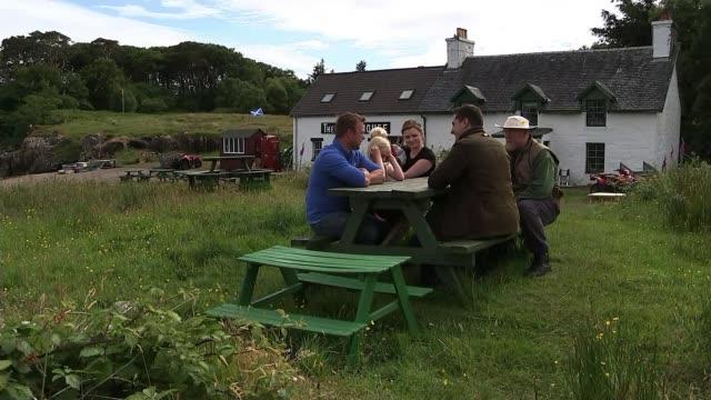 Inhabitants of small Scottish island celebrate becoming its owners Scotland Inner Hebrides Ulva Views of Ulva / Rebecca Munro and Matilda Munro...