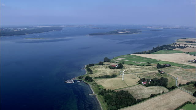 Ulvsund And Bogoe By  - Aerial View - Zealand, Denmark
