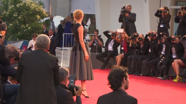 Uma Thurman at 'Nymphomaniac Volume 1 Director's Cut' Red Carpet 71st Venice International Film Festival on September 01 2014 in Venice Italy