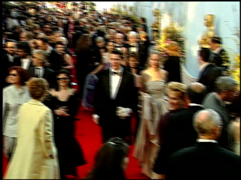 uma thurman at the 1999 academy awards at the shrine auditorium in los angeles, california on march 21, 1999. - 71st annual academy awards stock videos & royalty-free footage